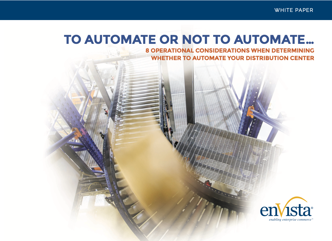 automate distribution facility cover image