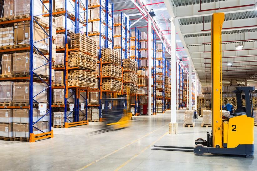lean distribution center