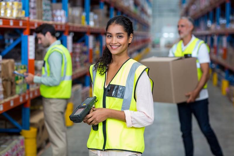 warehouse labor war
